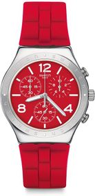 Swatch ROUGE DE BIENNE YCS117 Herrenchronograph Sehr Elegant