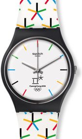 Swatch STAR GAMES GZ317 Unisexuhr Design Highlight