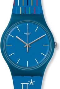 Swatch PETITS BATONS SUOZ277 Unisexuhr Design Highlight