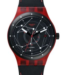 Swatch SISTEM RED SUTR400 Unisexuhr