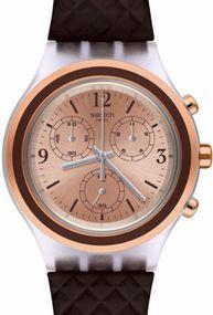 Swatch ELEBROWN SVCK1005 Herrenchronograph Sehr Sportlich