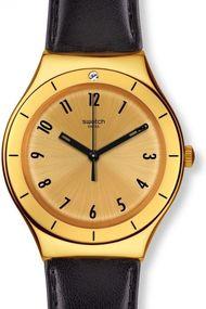 Swatch CORAGGIOSA YGG105 Herrenarmbanduhr Mit Zirkonen