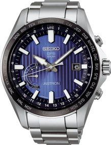 Seiko Astron GPS Solar World Time SSE159J1 Herrenarmbanduhr