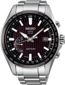 Seiko Astron GPS Solar World Time SSE161J1 Herrenarmbanduhr