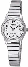 Lorus Klassik RJ205AX9 Damenarmbanduhr Flexibeles Zugband