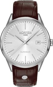 Roamer SUPERIOR 3H GENTS 508833 41 15 05 Herrenarmbanduhr