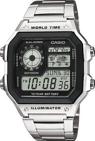 Casio Collection Men AE-1200WHD-1AVEF Digitaluhr für Herren