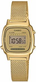 Casio Collection Retro LA670WEMY-9EF Digitaluhr für Damen