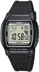 Casio Collection Men W-201-1AVEF Digitaluhr für Herren