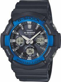 Casio G-Shock Original GAW-100B-1A2ER Herrenchronograph Multiband 6 & Solar