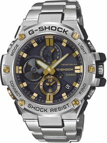 Casio G-Shock G-STEEL GST-B100D-1A9ER Herrenchronograph Mit Bluetooth