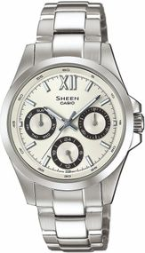 Casio Sheen Classic SHE-3512D-7AUER Damenarmbanduhr