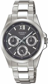 Casio Sheen Classic SHE-3512D-1AUER Damenarmbanduhr