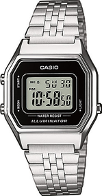 Casio Collection Retro LA680WEA-1EF Digitaluhr für Damen