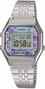 Casio Collection Retro LA680WEA-2CEF Digitaluhr für Damen