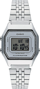 Casio Collection Retro LA680WEA-7EF Digitaluhr für Damen