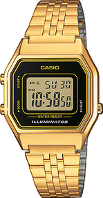Casio Collection Retro LA680WEGA-1ER Digitaluhr für Damen