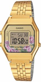Casio Collection Retro LA680WEGA-4CEF Digitaluhr für Damen