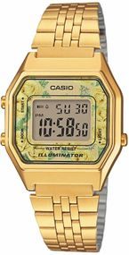 Casio Collection Retro LA680WEGA-9CEF Digitaluhr für Damen