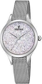 Festina Mademoiselle F20336/1 Damenarmbanduhr Mit Swarovski Kristallen