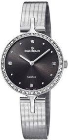 Candino Lady Elegance C4646/2 Damenarmbanduhr Mit Kristallsteinen