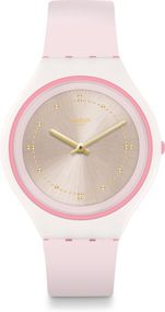 Swatch New Skin Big SKINBLUSH SVUP101 Damenarmbanduhr Swiss Made