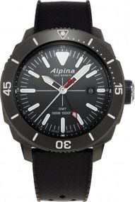 Alpina Geneve Seastrong Quartz GMT AL-247LGG4TV6 Herrenarmbanduhr