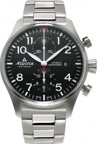 Alpina Geneve Startimer Pilot Automatic Chronograph AL-725B4S6B Herren Automatikchronograph
