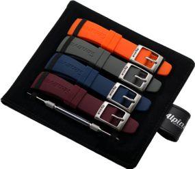 Alpina Geneve Strap Set AL-STRAPSET-RUBBER Armband Set