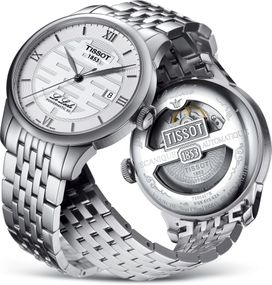 Tissot LE LOCLE DOUBLE HAPPINES POWERMATIC 80 T006.407.11.033.01 Herren Automatikuhr