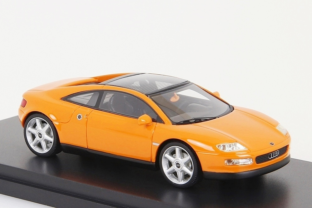 Audi Quattro Spyder 1991 orange 1:43 – Bild 6