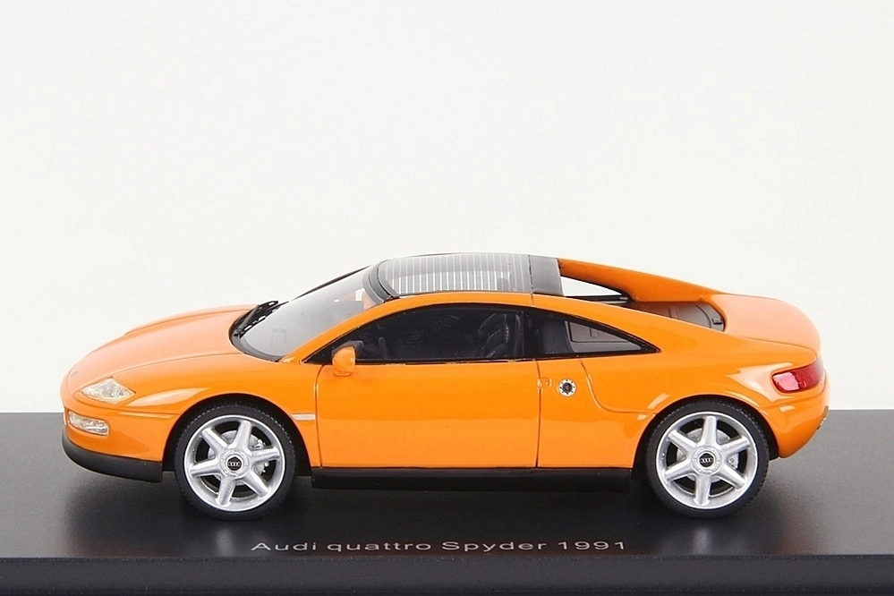 Audi Quattro Spyder 1991 orange 1:43 – Bild 3