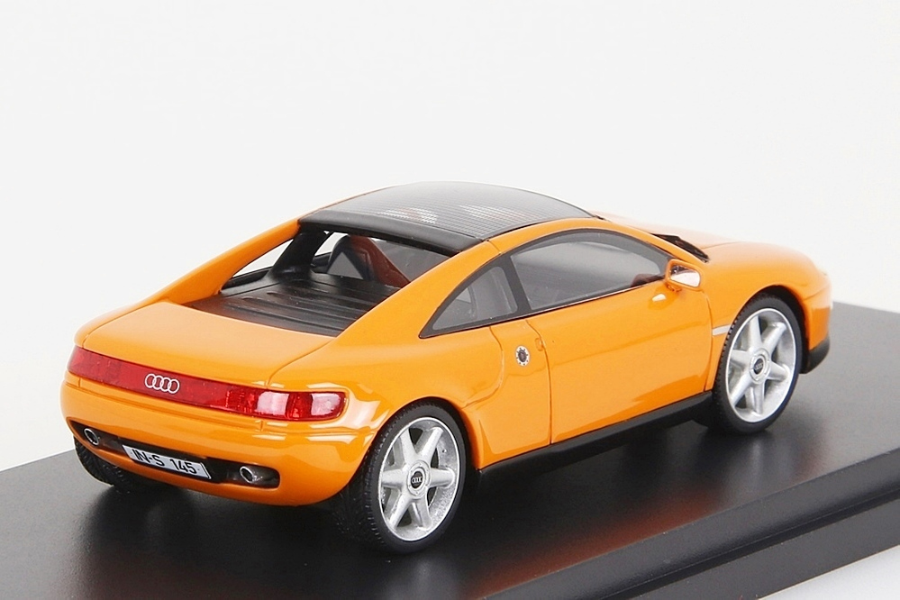 Audi Quattro Spyder 1991 orange 1:43 – Bild 4