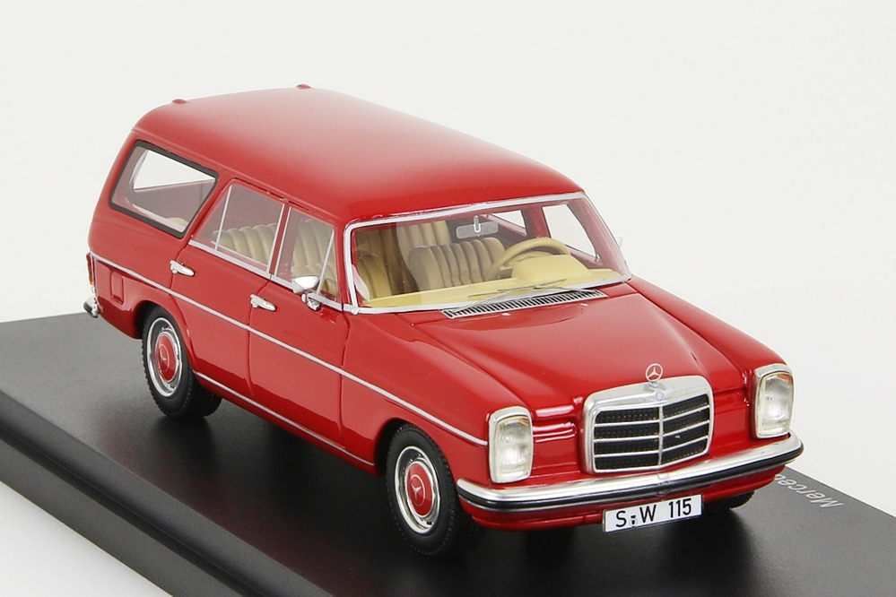 Mercedes-Benz Binz W115 Station Wagon rot 1:43 – Bild 5