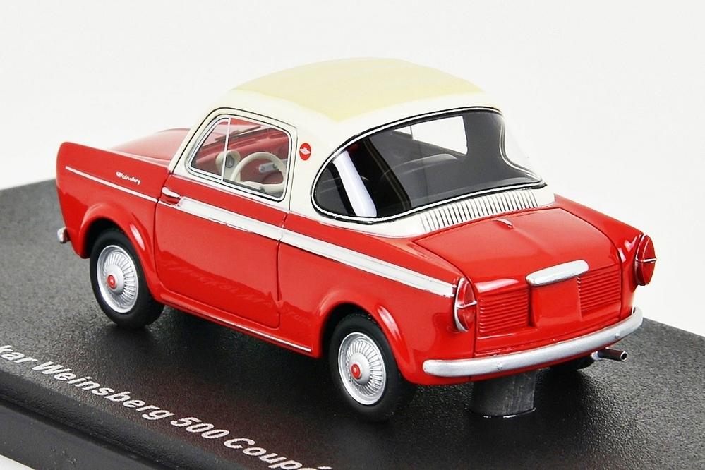 NSU Neckar Weinsberg 500 Coupe 1959 rot / weiss – Bild 2