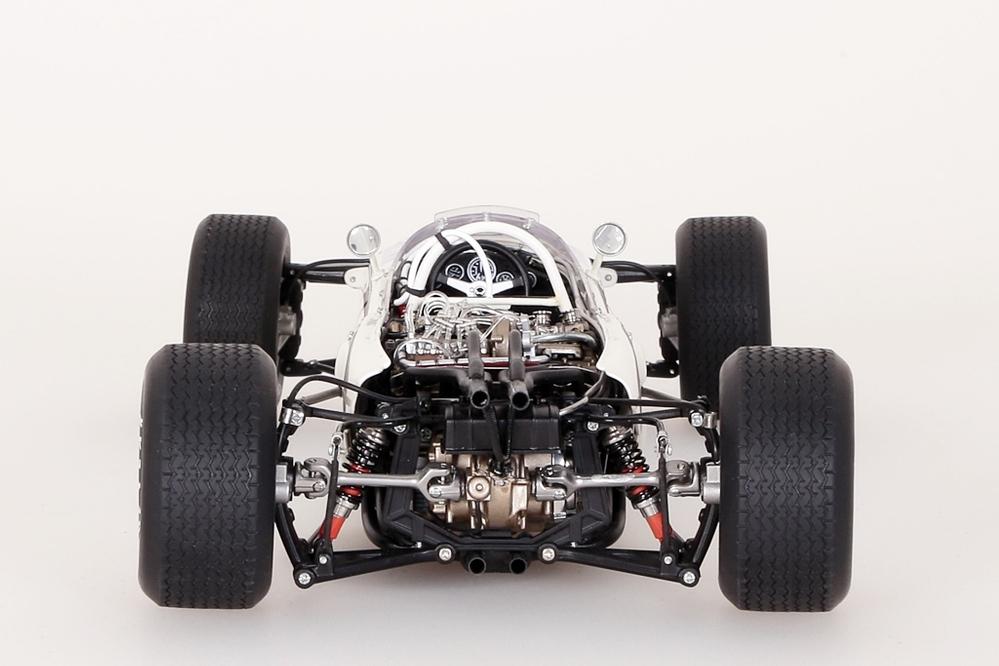 Honda RA272 F1 gelb Grand Prix Mexico 1965 Bucknum #12 ohne Figur – Bild 9