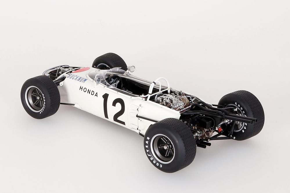Honda RA272 F1 gelb Grand Prix Mexico 1965 Bucknum #12 ohne Figur – Bild 10