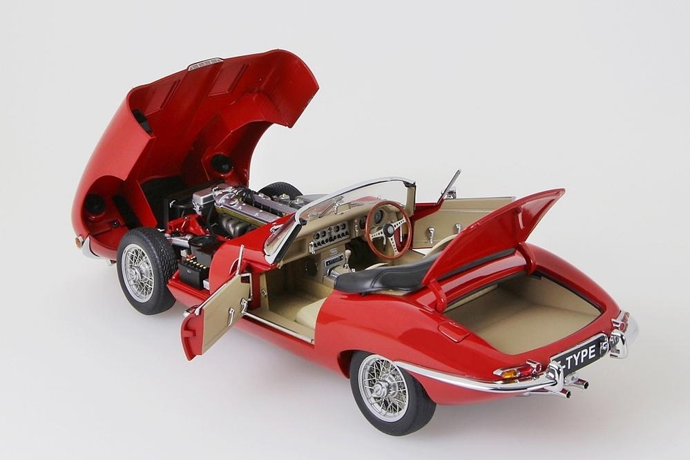 Jaguar E-Type Roadster Series I 3.8  rot    – Bild 11