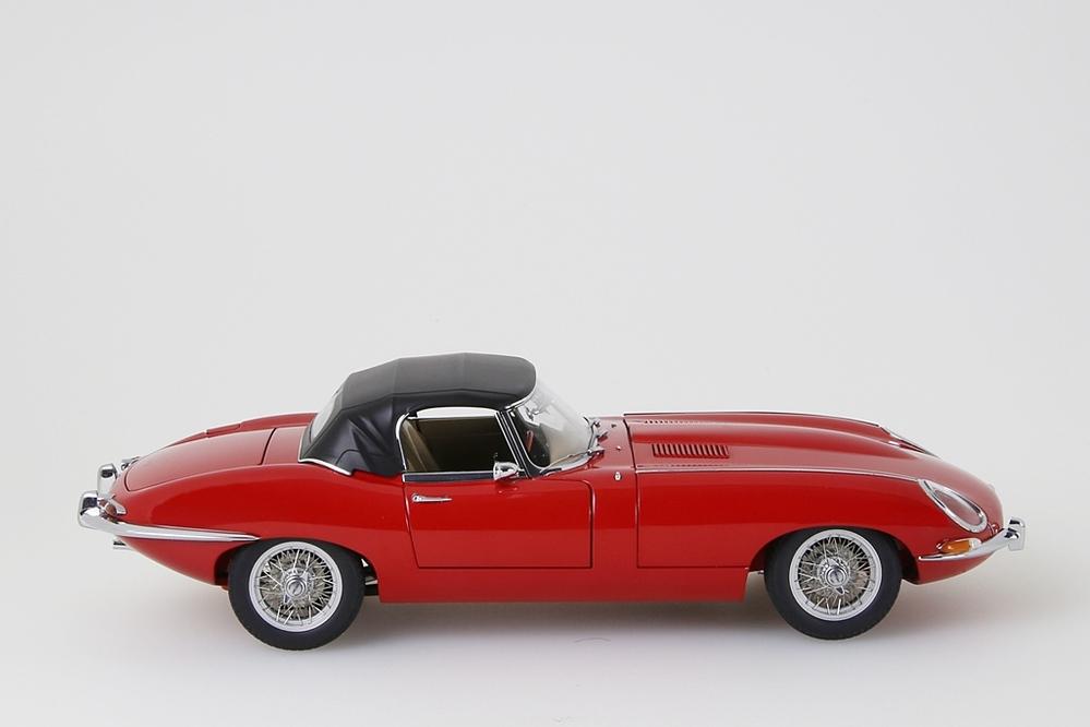 Jaguar E-Type Roadster Series I 3.8  rot    – Bild 8