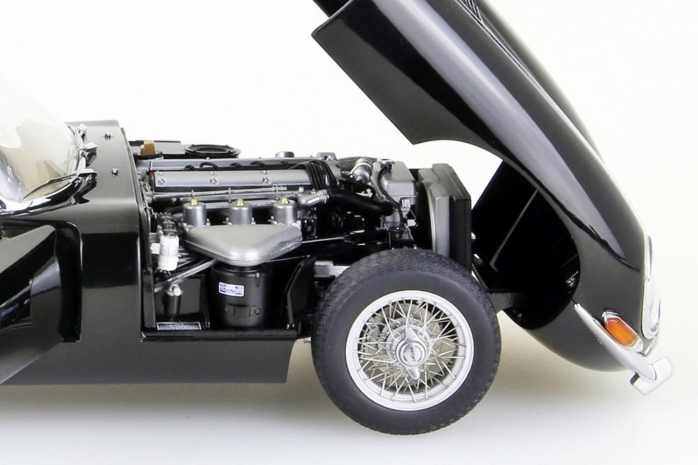 Jaguar E-Type Coupe Series I 3.8  schwarz    – Bild 12