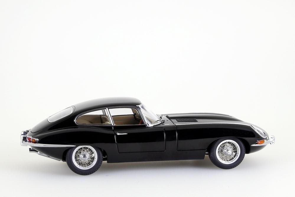 Jaguar E-Type Coupe Series I 3.8  schwarz    – Bild 7