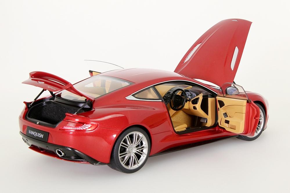 Aston Martin Vanquish 2015 rot metallic – Bild 14