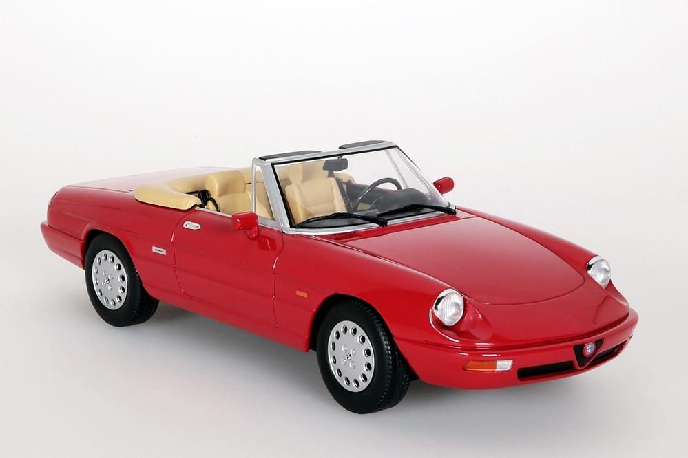 Alfa Romeo Spider 4  1990 rot – Bild 8