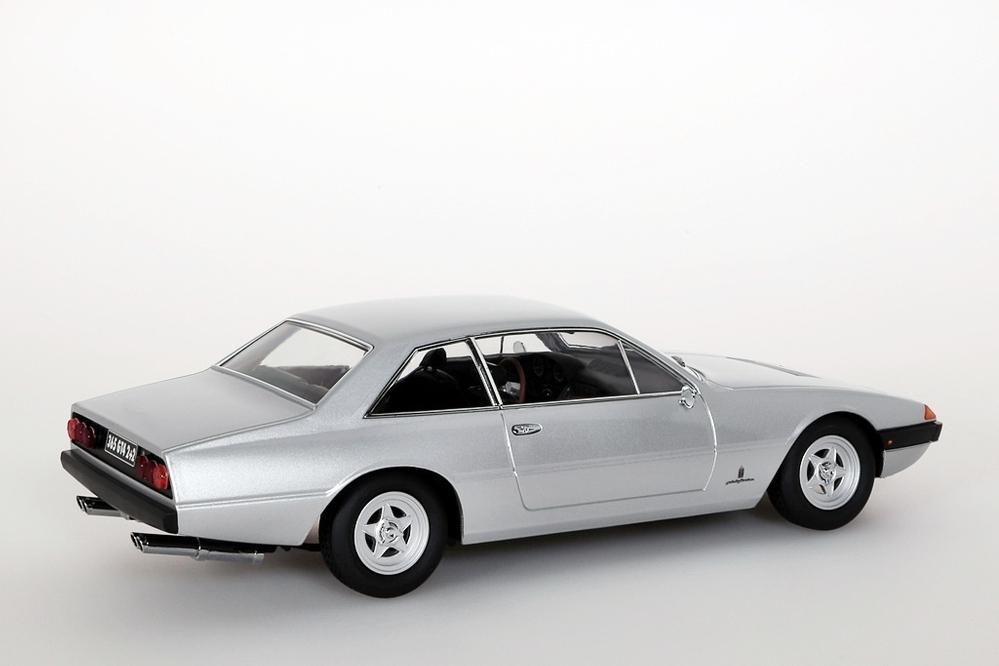 Ferrari 365 GT4 2+2, 1972 silber – Bild 4