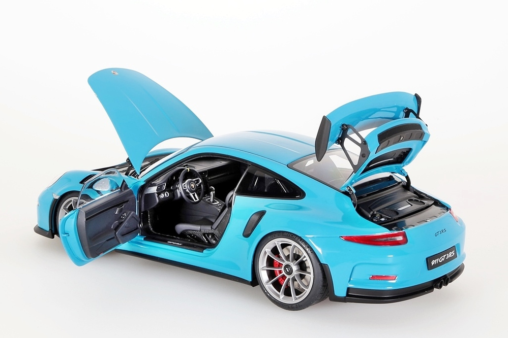 Porsche 911 (991) GT3 RS  2016 miami blue – Bild 5