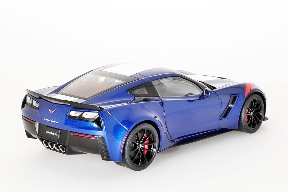 Chevrolet Corvette C7 Grand Sport 2017 blau/weiss – Bild 7