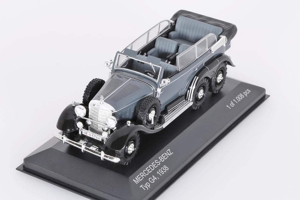 Mercedes-Benz G4 1938 grau – Bild 3