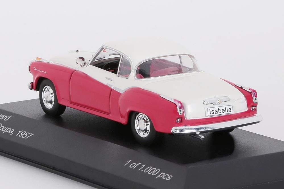 Borgward Isabella Coupe 1957 rot/weiss – Bild 2