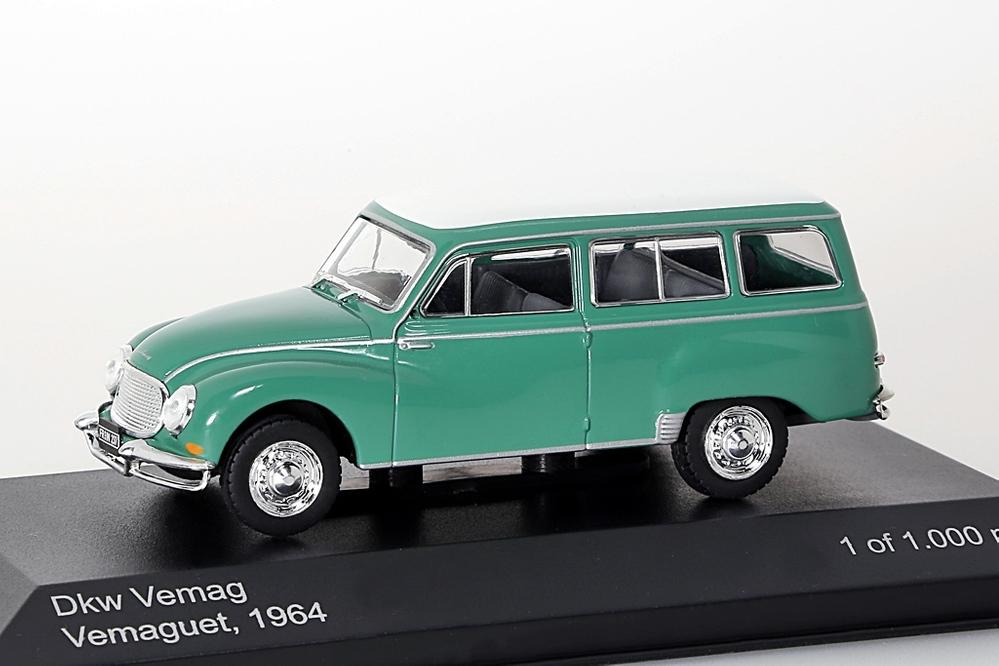 DKW Vemag Vemaguet 1964 grün/weiss – Bild 1
