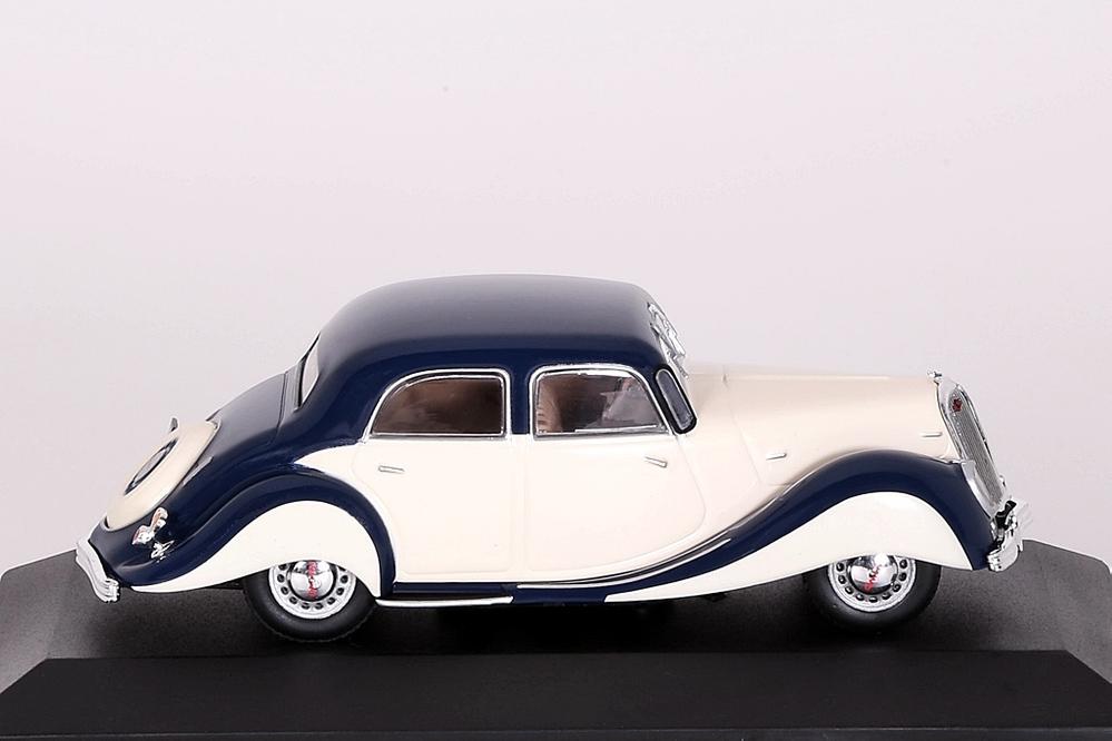 Panhard Dynamic 1939 blau/beige – Bild 3